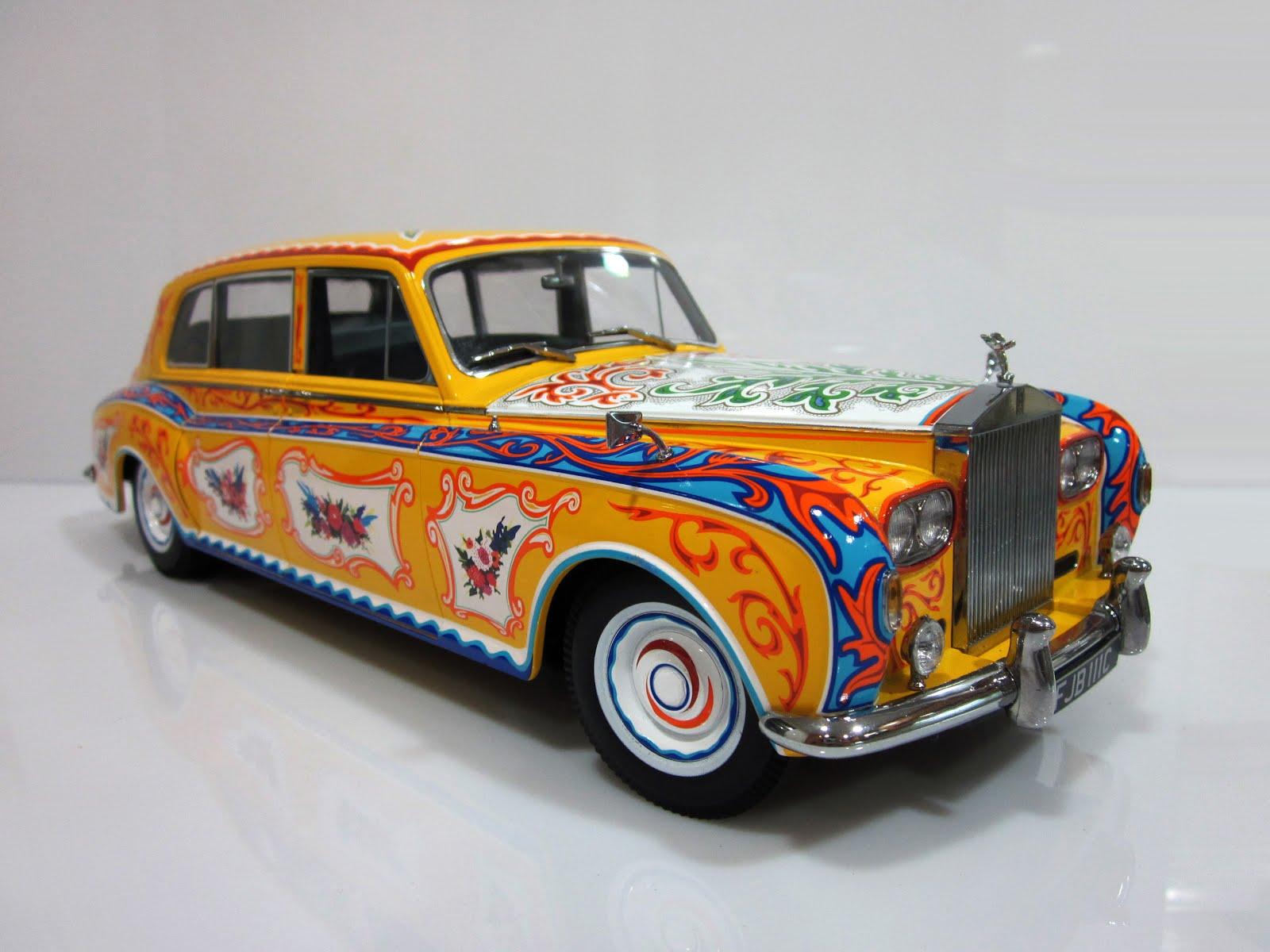 """Rolls Royce Phantom V LWB """"John Lennon's Car"""" '64 Paragon Models"""
