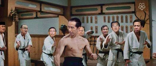 Jokowi vs Prabowo Lucu