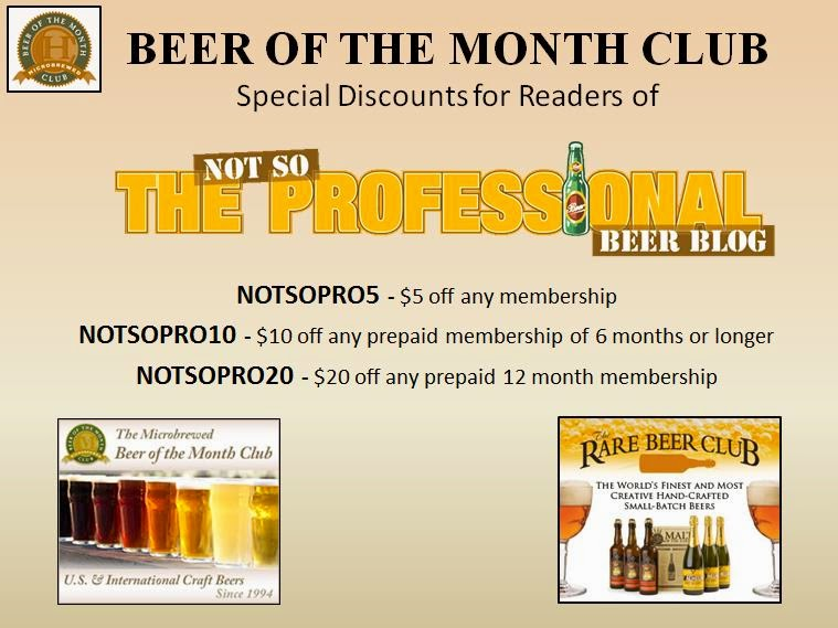 The Beer Of Month Club Is Also Offering Special Discounts For My Readers Use Codes Shown Below During Checkout Process To Receive Discount