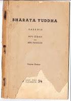 Kakawin Bharatayuda karya Empu Sedah dan Empu Panuluh