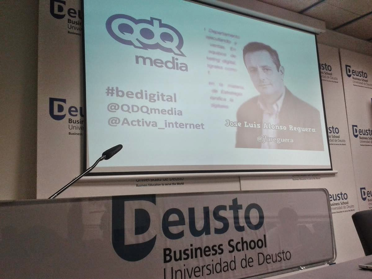 Jose Luis Alonso en Deusto Business School