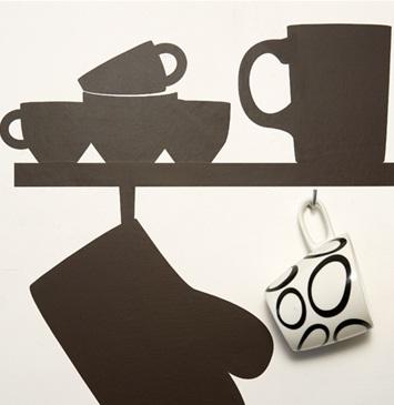 Decora y disena pegatinas decorativas cocina ideas - Pegatinas para cocinas ...
