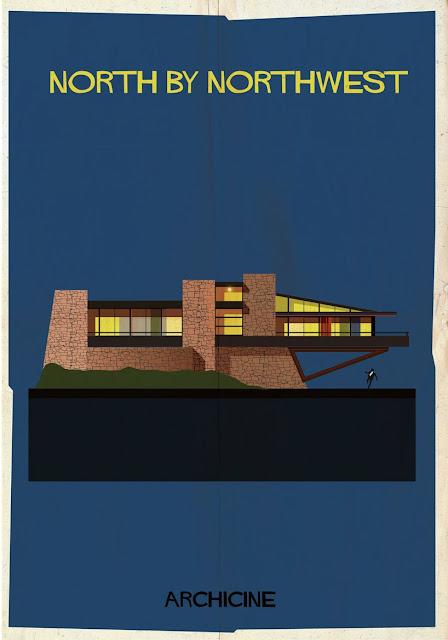 {Art} Architecture in film: Archicine by Frederico Babina | Rue du chat qui peche | North by Northwest