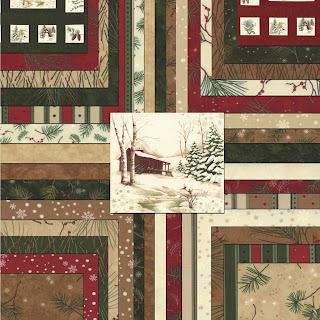 Moda HOLIDAY IN THE PINES Christmas Quilt Fabric by Holly Taylor