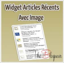 Widget Articles Récents