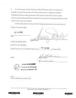 how to make a sworn affidavit in ontario
