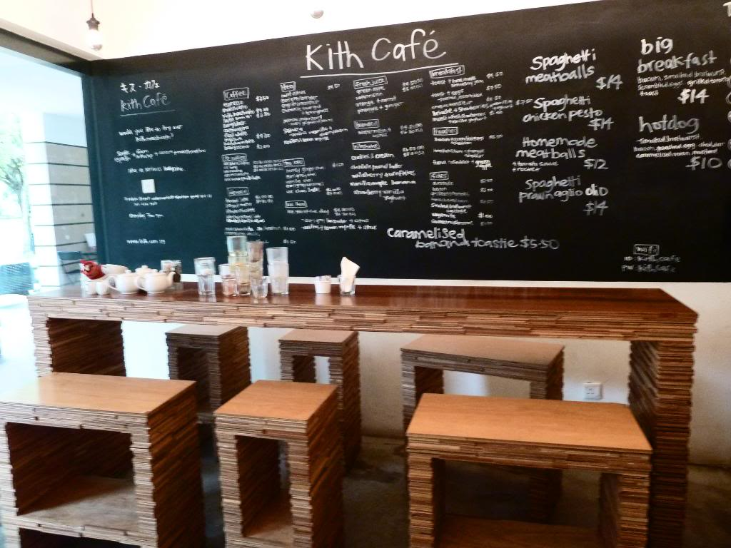 Kith Cafe Robertson Quay Justfortest - Long cafe table