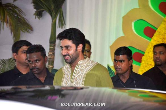 Abhishek Bachchan - (6) - Esha Deol Wedding Pics 2012 - Full Set