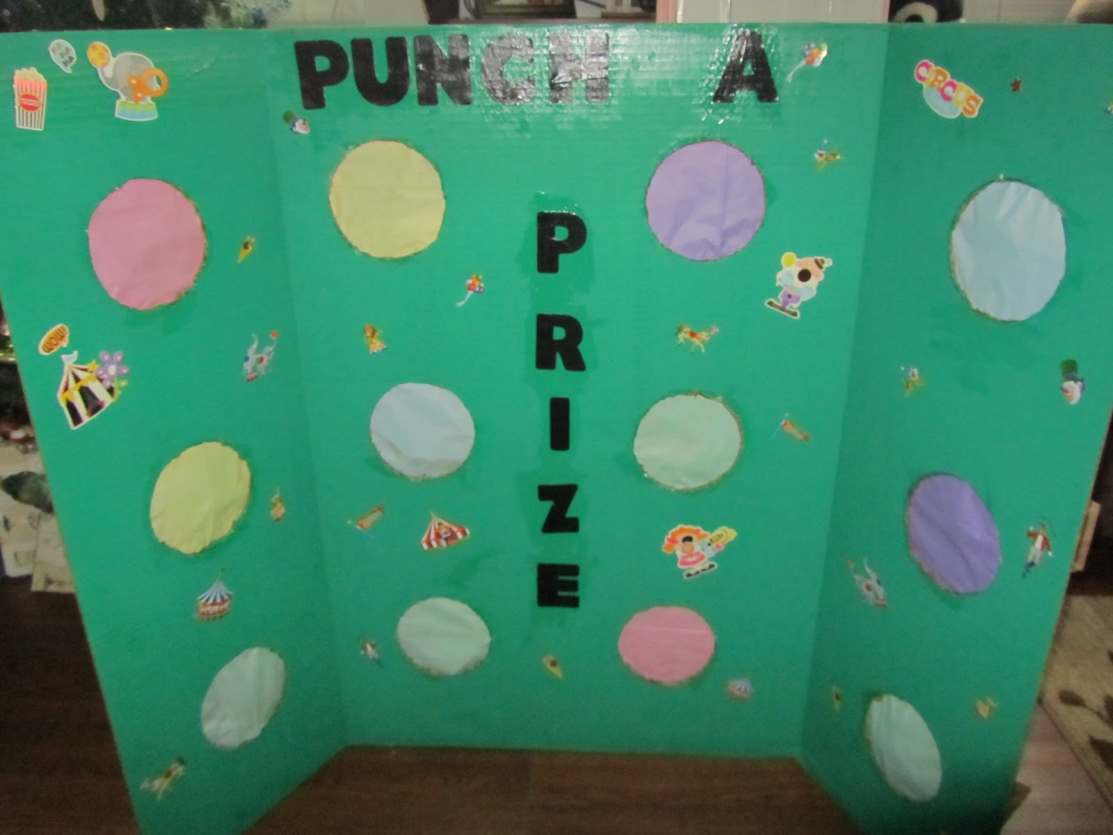 how to make a prize board