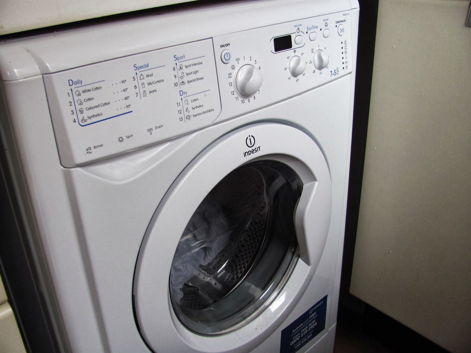 Dual purpose unit that functions as a washer and a dryer