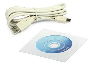 TL-WN822N - kelengkapan kabel dan CD driver manual