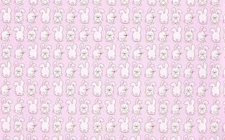 bunny pattern hd wallpaper pictures