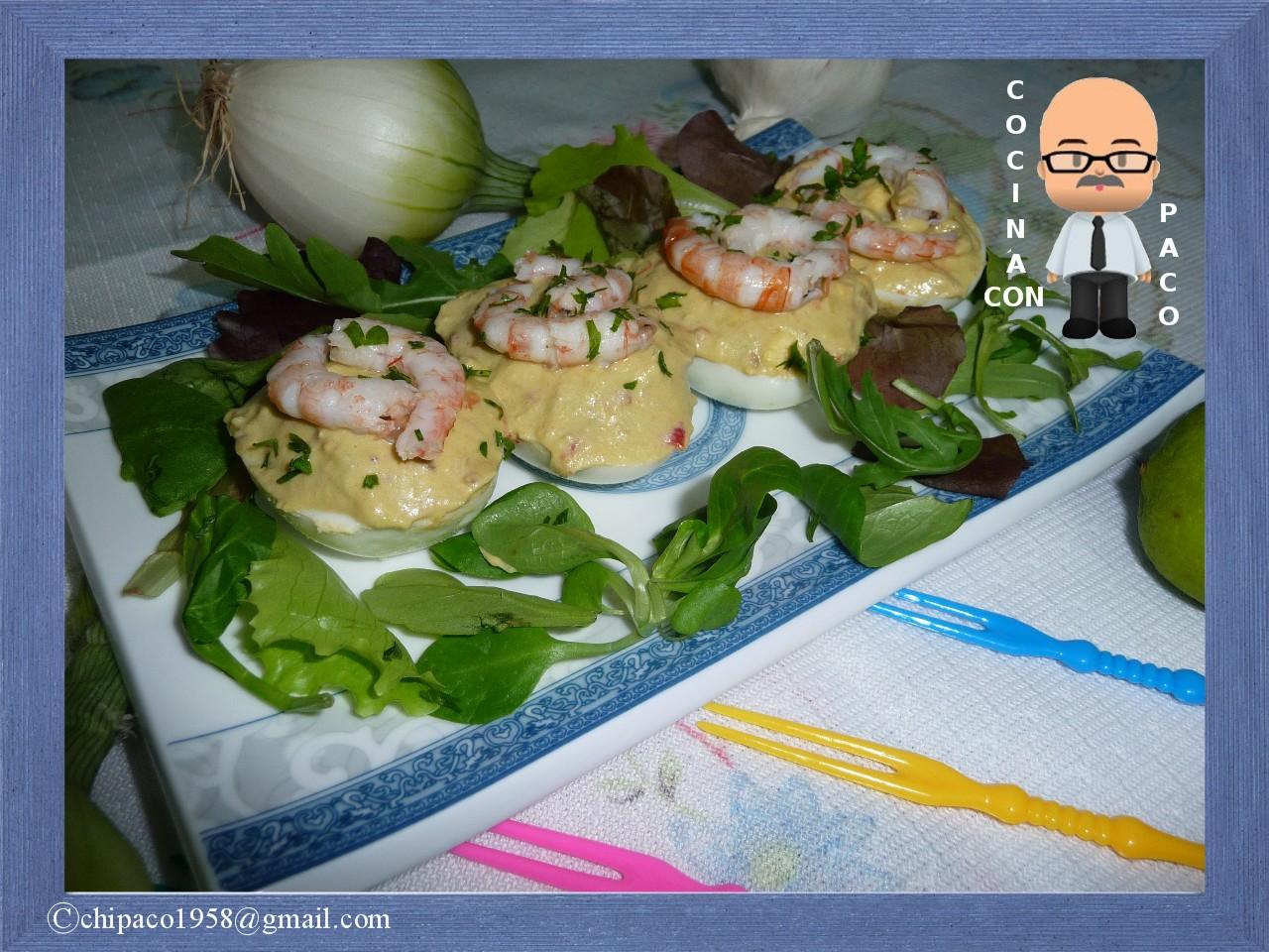 Cocina Con Paco | Cocina Con Paco Huevos Rellenos De Aguacate