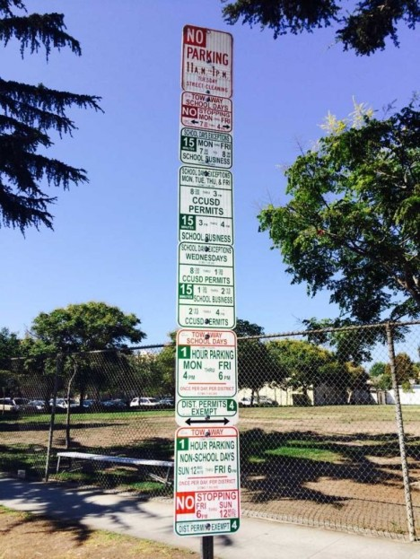 Horrible Street Parking Signs