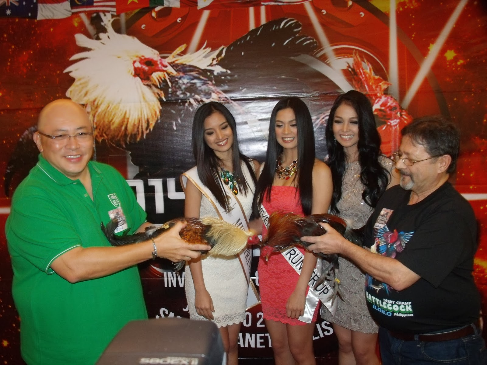 Beauty Queens with World Slasher Cup participants