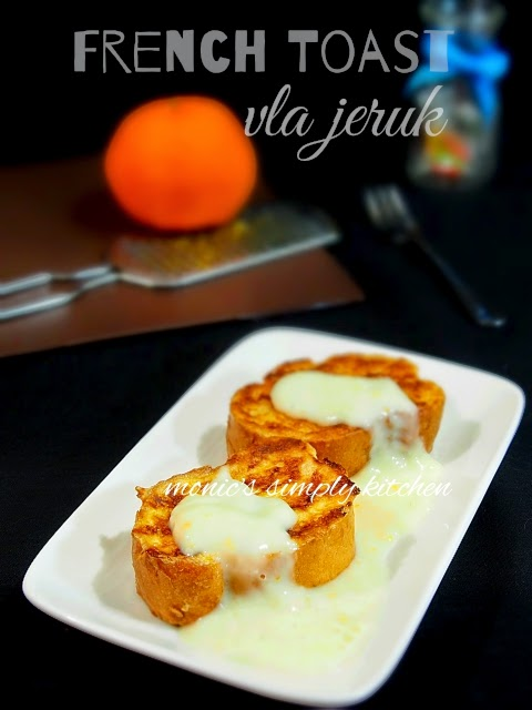 resep french toast vla jeruk