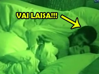 Novo video do Yuri e Laisa transando dentro da casa do BBB12
