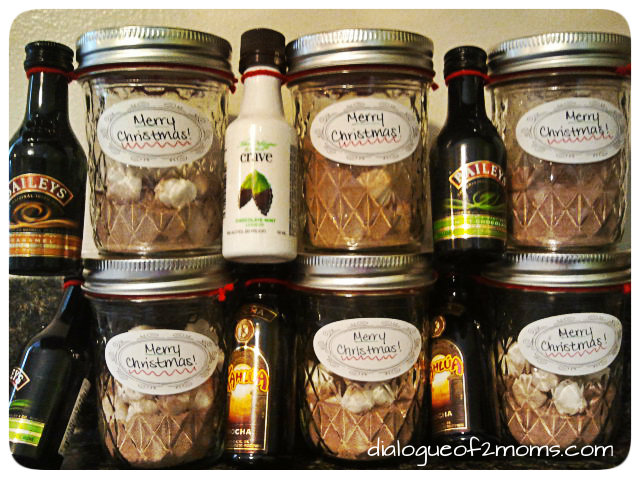 Living with joe adult hot chocolate - Christmas favors for adults ...