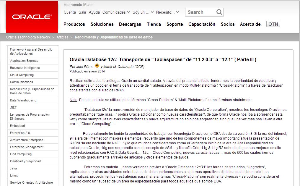 Oracle Database 11.2.0.3