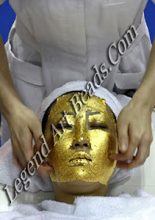 Facial of Gold for beauty