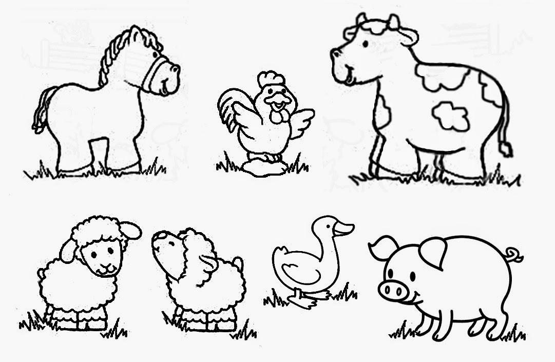 recursos para educación inicial: DIBUJOS DE ANIMALES PARA ...