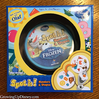 Disney Frozen Spot It, Blue Orange Games, Olaf
