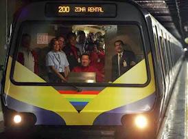 $ 90 millones cobró Carlos Aguilera por rehabilitación del Metro de Caracas
