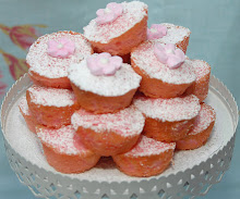 Pink Coconut Teacakes