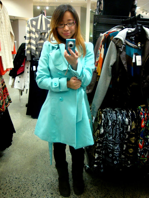 Rue 21 Mint Jacket