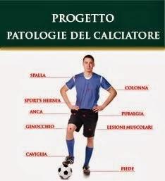 """Villa Stuart, Progetto """"Patologie del Calciatore"""""""