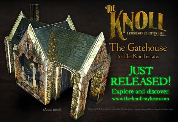 The Knoll Gatehouse Paper MOdel
