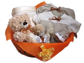 Cos cadou Baby Bear