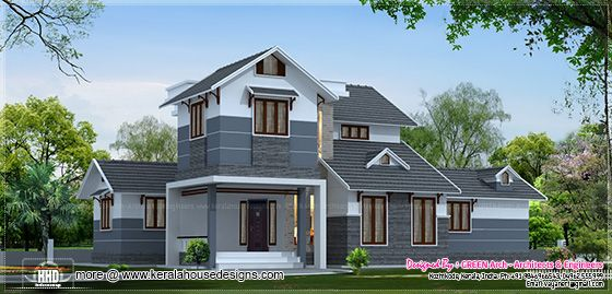 2200 sq-ft villa design
