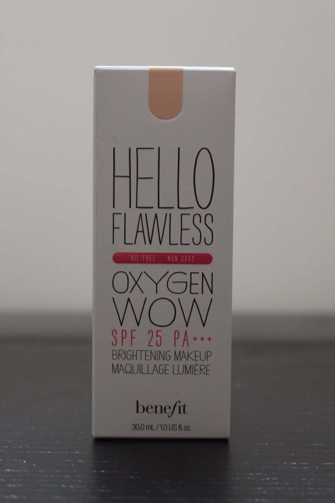 Benefit Hellow Flawless Oxygen Wow Foundation