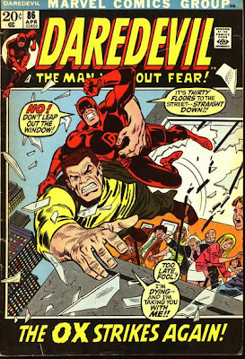 Daredevil #86, the Ox