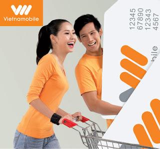 Vietnamobile tặng 100% thẻ nạp vào tài khoản chính ngày 30-31/08