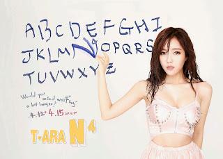 T-ara N4 Hyomin Jeon Won Diary Pics