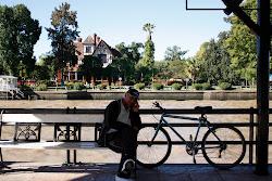 Descanso después de andar en bici...