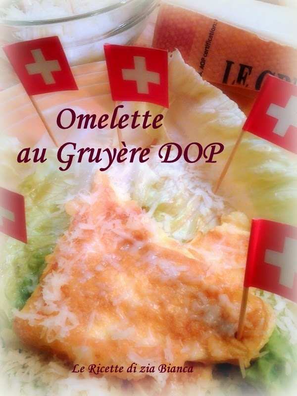 omelette au gruyère dop