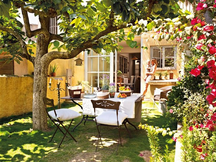jardins quintal pequeno:ESTILO RUSTICO: LOS ULTIMOS JARDINES RUSTICOS