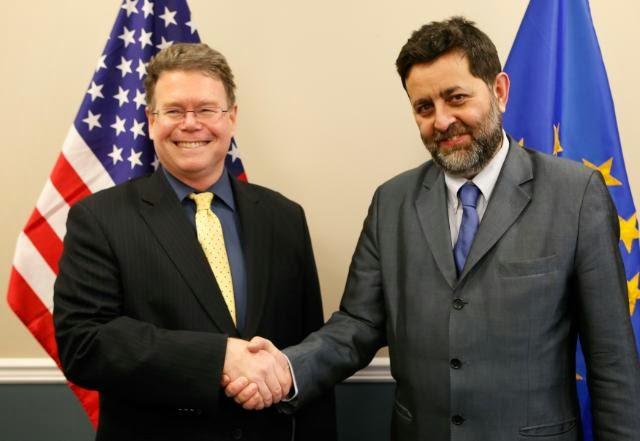 Ignacio García Bercero, Dan Mullaney negociadores jefes del Tratado Transatlántico de Inversión y Comercio (TTIP)
