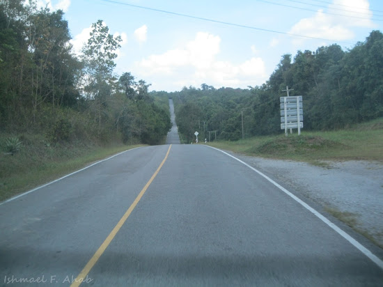 Road to Phukhieo Wildlife Sanctuary