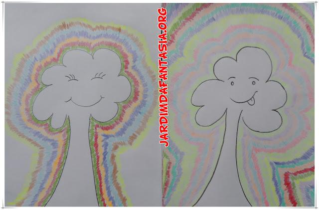 Artes Educação Infantil Pintura com Efeito Divertido