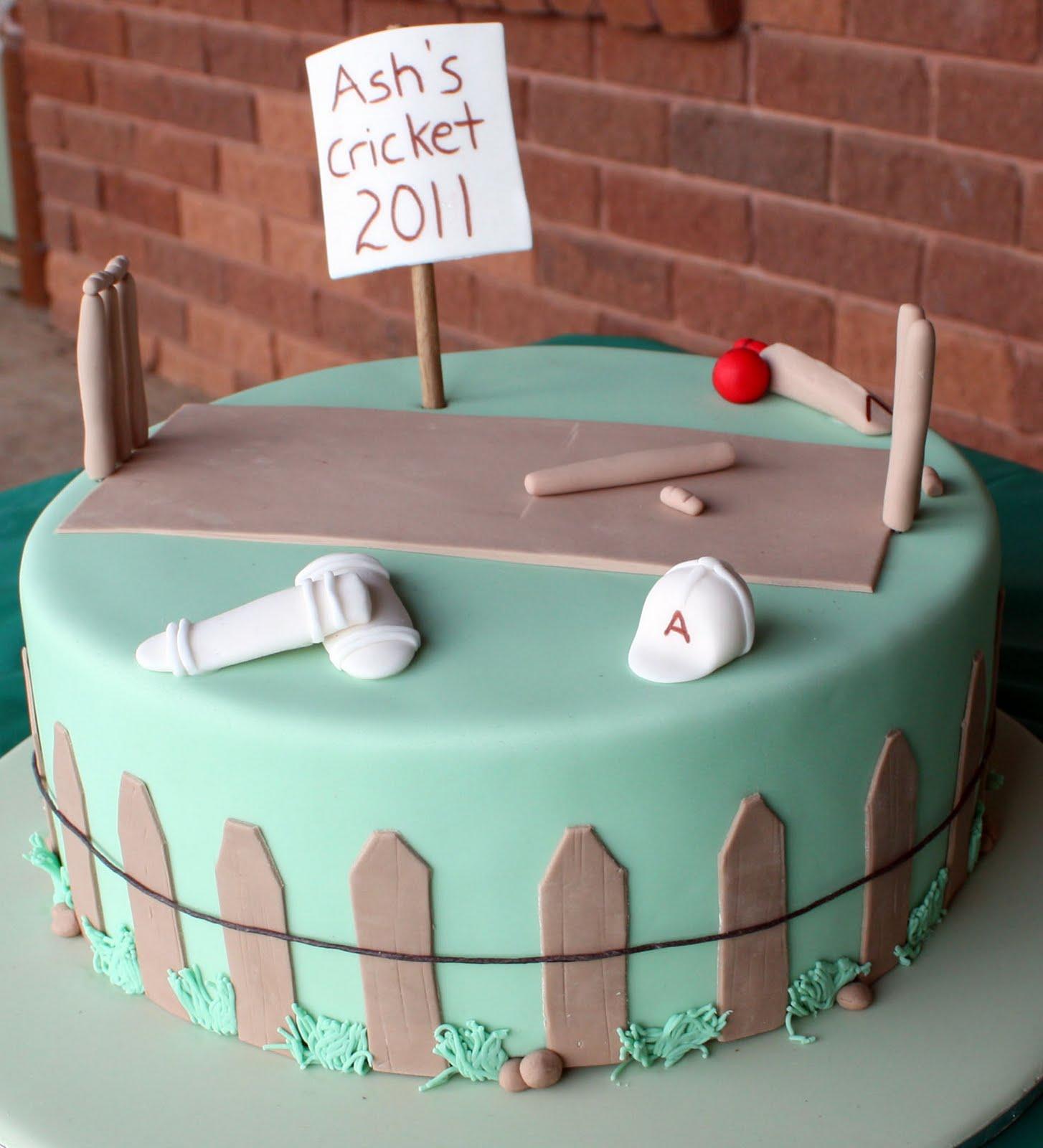 Cake Designs For Cricket : Crafty Kim s Creations: Cricket-Themed Birthday Celebration