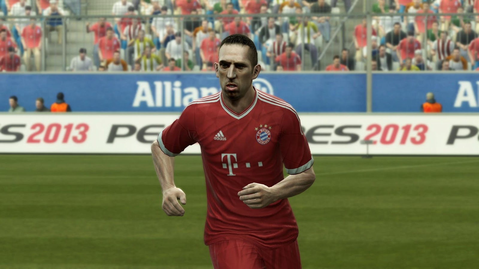 PES 2013: Kit Home Bayern de Munique 2013-14