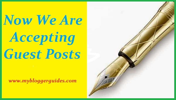 Guest Post, My Blogger Guides
