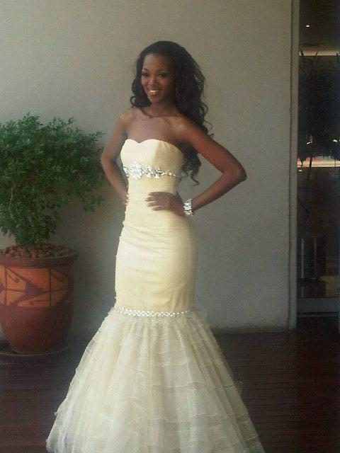 Eye For Beauty: Bokang Montjane\'s Miss World Gown Revealed
