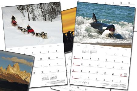 Calendarios de Pared 2012 - Patagonia - Andrés Bonetti