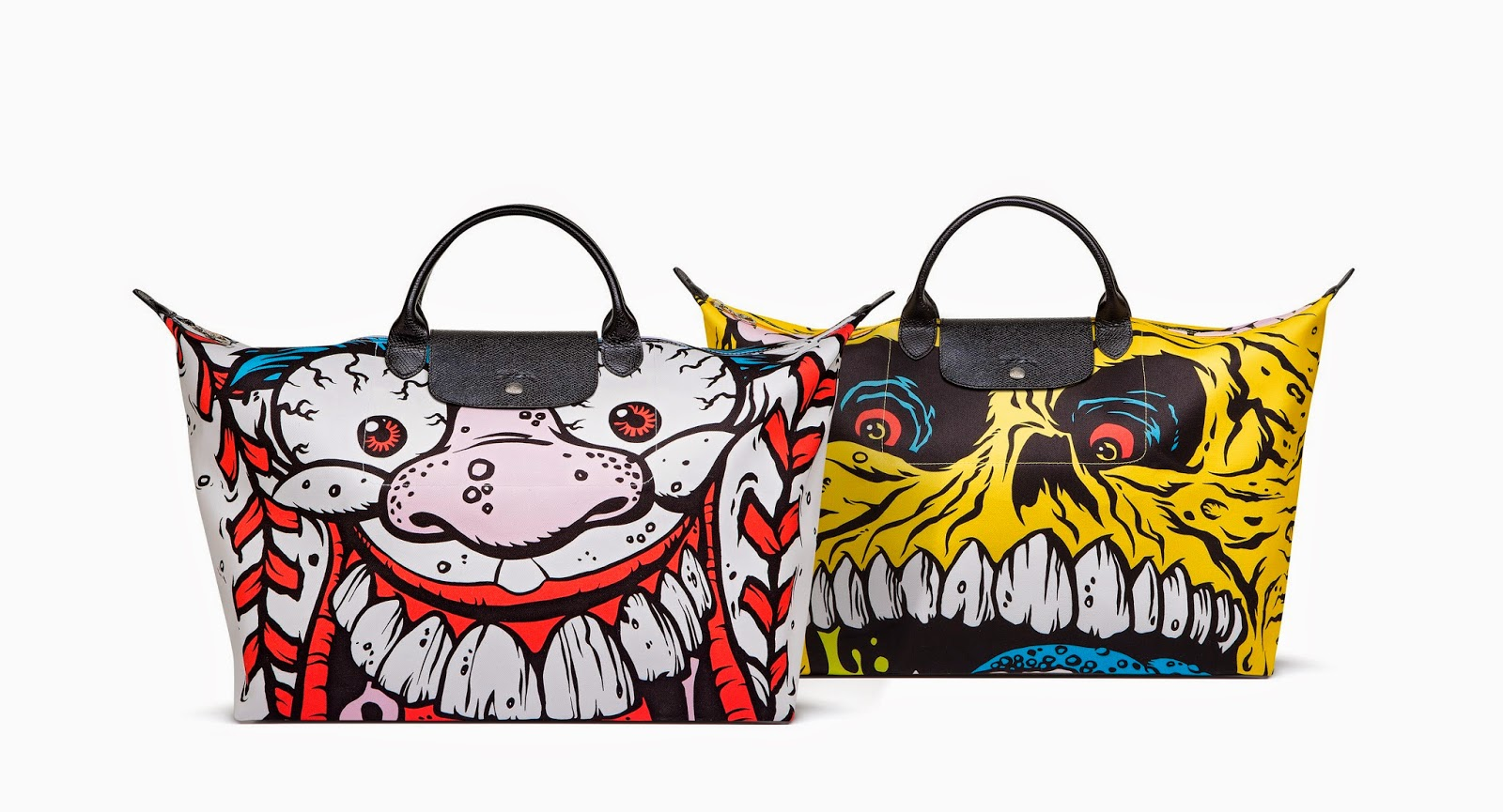 Le Pliage Madballs Jeremy Scott for Longchamp