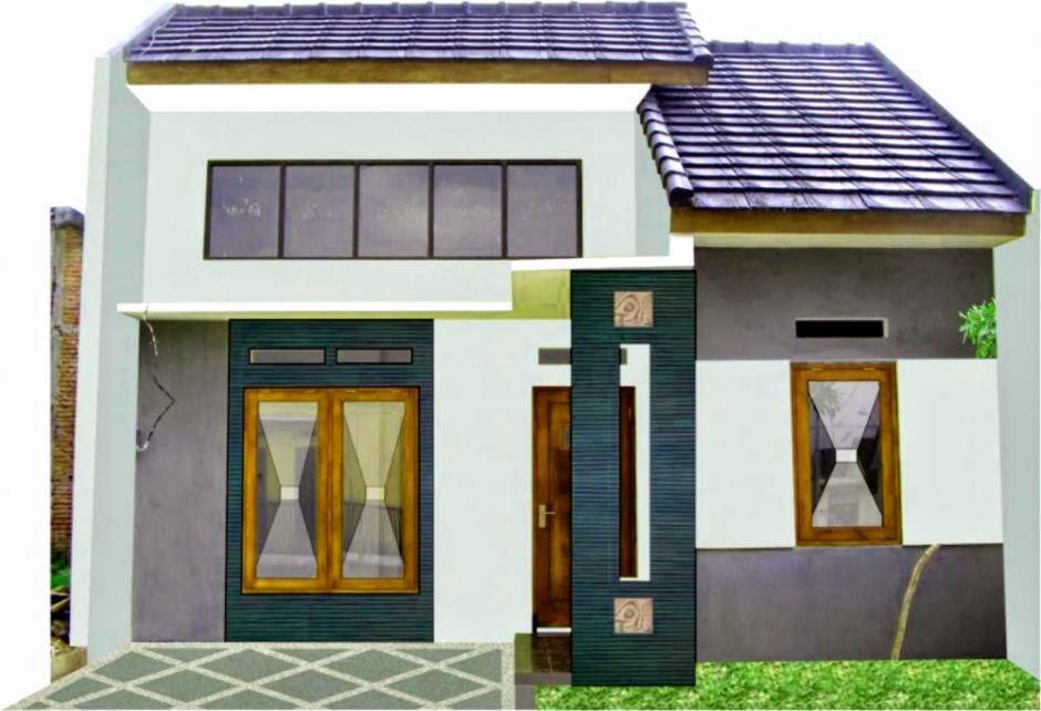 Rumah Minimalis 2014 Simpel dan Menawan   Model Rumah